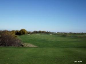 Harborside International 2nd hole