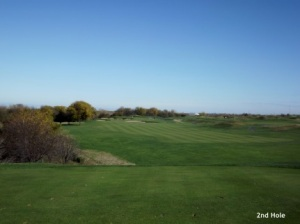Harborside International 2nd hole
