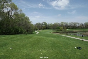 6th Hole Downers Grove Golf Couse