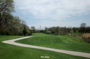7th Hole Downers Grove Golf Couse
