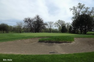 8th Hole Downers Grove Golf Couse