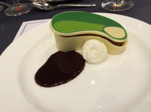A creative dessert topped off the festivities at the International Crown Launch Party.