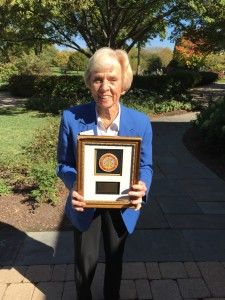 Audrey Peterson, a frequent competitor in WWGA competitions, was a past president and tournament chairman for the organization.