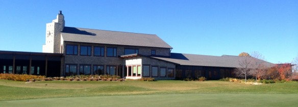 Hazeltine's clubhouse, which opened in 2010, offers plenty of views of its championship course.