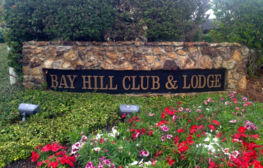 Bay Hill Club & Lodge sign