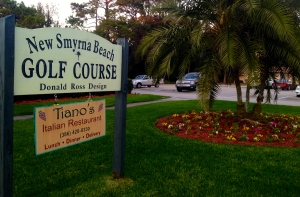 The Italian restaurant inside the New Smyrna Beach clubhouse isn't your ordinary post-round pub.