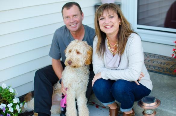 Steve Dell, PGA and Family