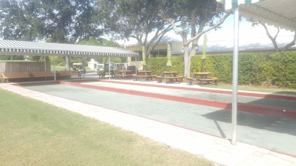 Bocce ball at The Legacy