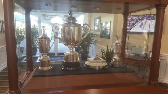 Trophies at PGA Golf Club